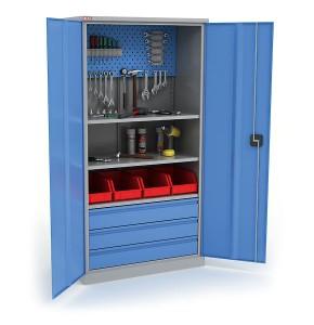 Металлический инструментальный шкаф КД