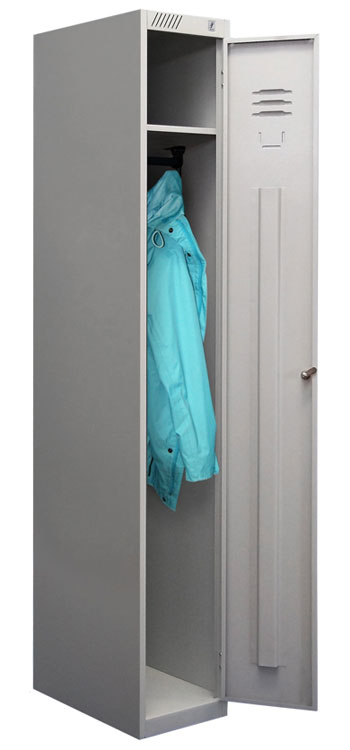 Металлический шкаф для одежды ШРС-11-300