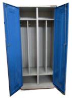Шкаф для одежды двухстворчатый на подставке