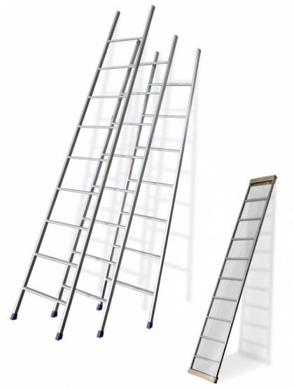 Односекционная алюминиевая лестница 1х8