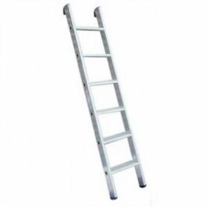 Односекционная алюминиевая лестница 1х6