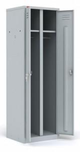 Металлический шкаф для одежды ШРМ - С/600