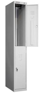 Металлический шкаф для одежды ШРС-12-300