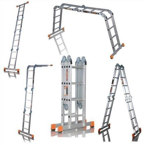 Четырехсекционная лестница трансформер 4х3