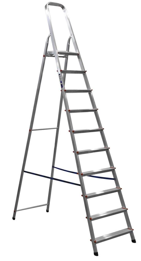 Стремянка оцинкованная 10 ступеней