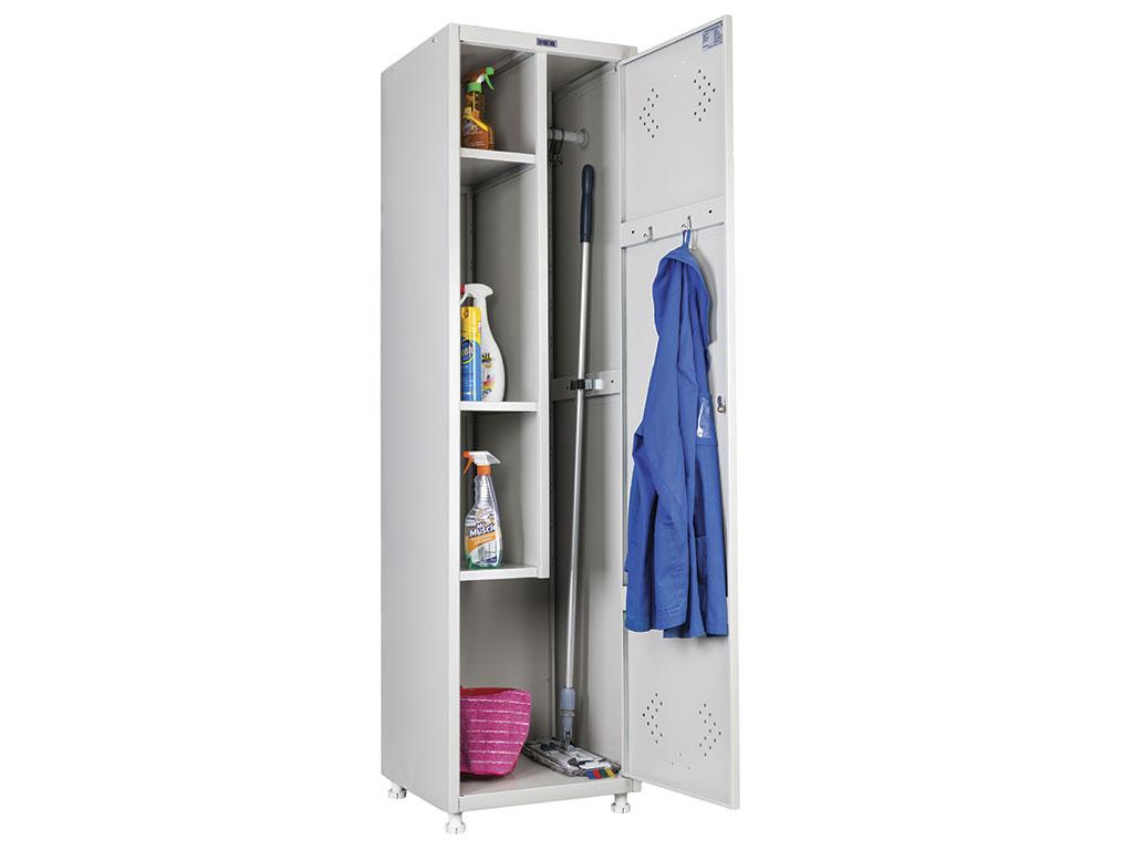 Шкаф для одежды и хоз.инвентаря ПРАКТИК LS-11-50