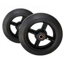 Комплект большегрузных колес литая резина ∅ 250 мм (2 шт)