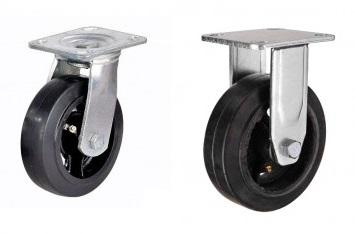 Комплект большегрузных колес ∅ 125 мм (4 шт)