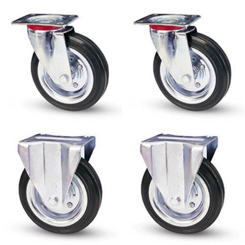 Комплект промышленных колес ∅ 160 мм (4 шт)